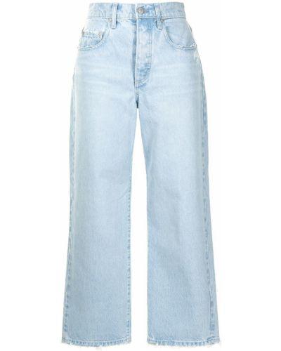 Укороченные джинсы - синие Nobody Denim