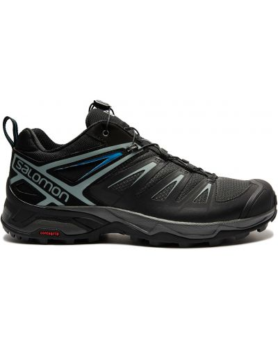 Черные кроссовки из плотной ткани Salomon
