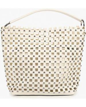 Кожаная сумка с ручками из искусственной кожи Bata