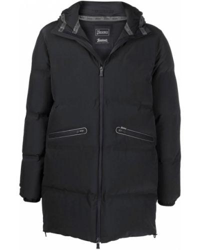 Płaszcz - czarny Herno