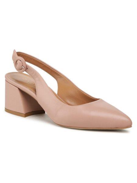 Sandały - różowe Badura