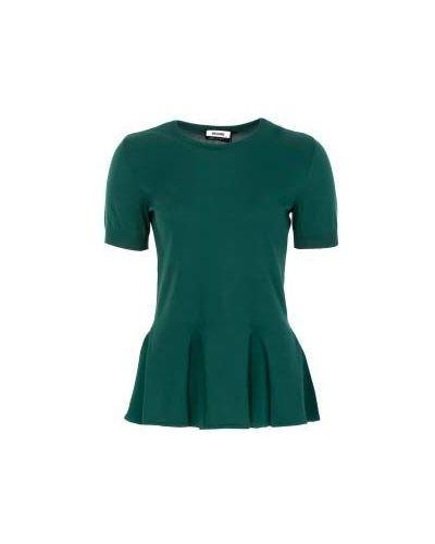 Зеленый джемпер летний Moschino