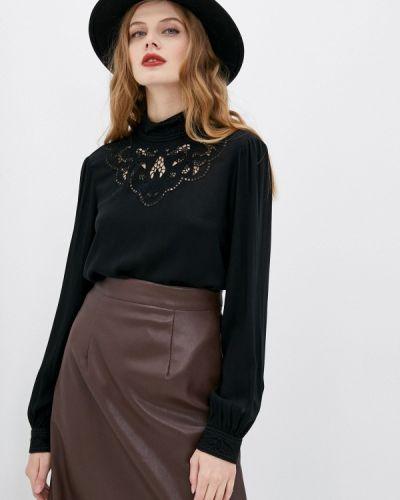 Черная кружевная блузка Marks & Spencer