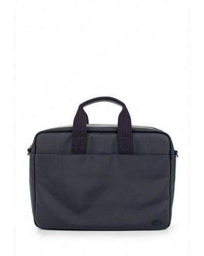 Синяя сумка Lacoste