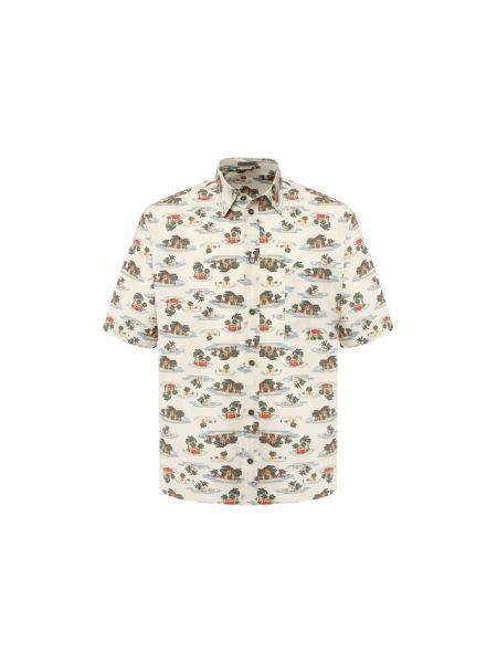 Рубашка из поплина туристическая Bottega Veneta