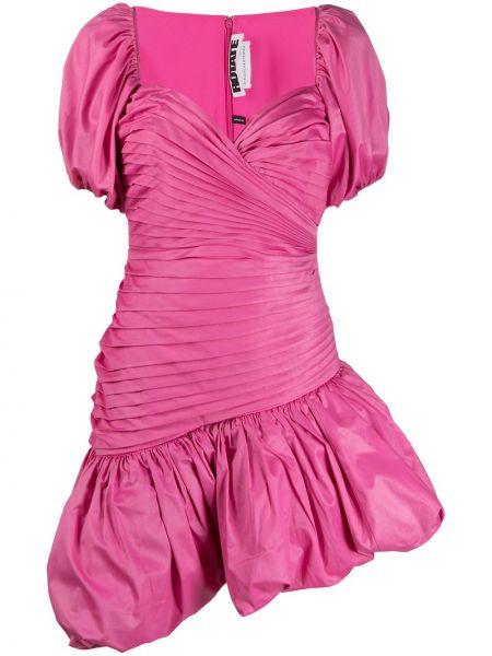Платье мини короткое - розовое Rotate