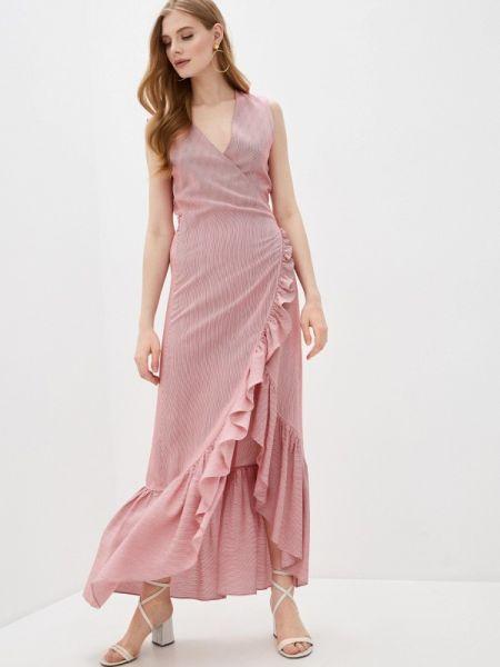 Красное платье с запахом Alessandro Dell'acqua