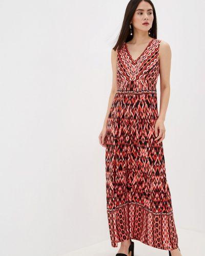 Коралловое повседневное платье Wallis