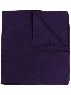 Szalik wełniany - fioletowy Givenchy