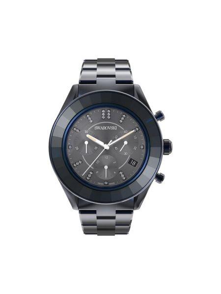 Zegarek sportowy - granatowy Swarovski