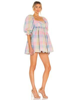 Różowa sukienka bawełniana Selkie