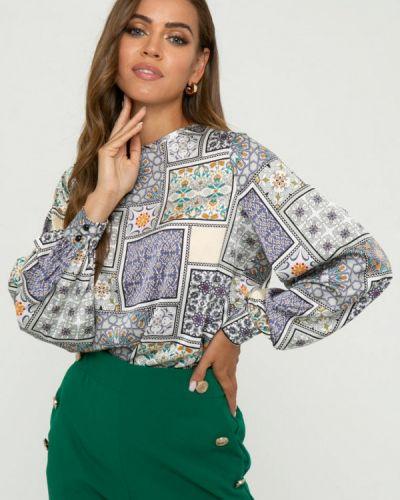 Блузка с длинными рукавами - серая Gold Chic Chili