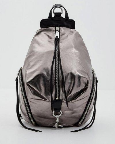 Рюкзак серебряного цвета Rebecca Minkoff