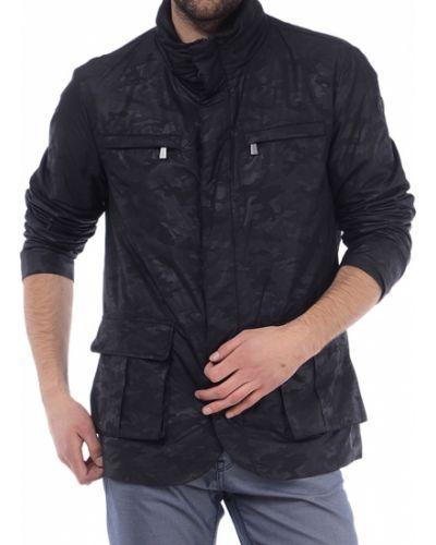 Черная ветровка Trussardi Jeans