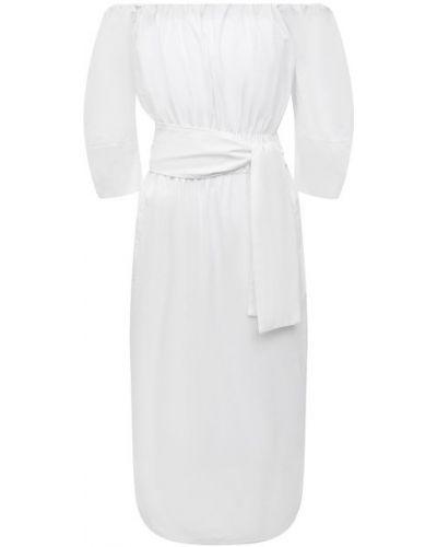 Хлопковое платье - белое Tela