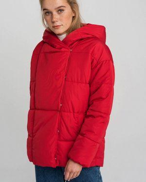 Оранжевая утепленная куртка Befree
