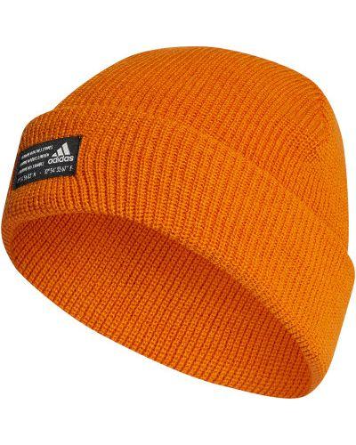 Спортивная шапка - оранжевая Adidas