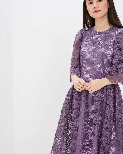 Вечернее платье фиолетовый мадам т