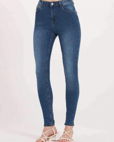 Синие джинсы-скинни узкого кроя Terranova