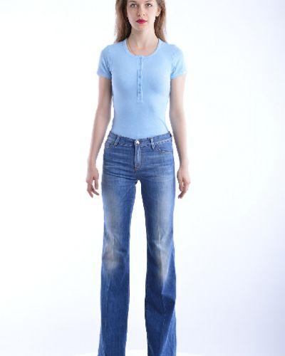 Прямые джинсы синие Guess By Marciano