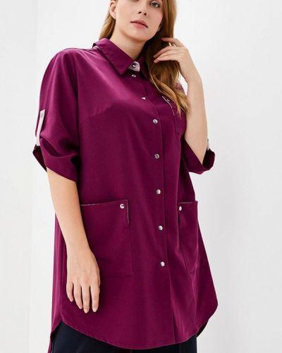 Туника фиолетовый авантюра Plus Size Fashion