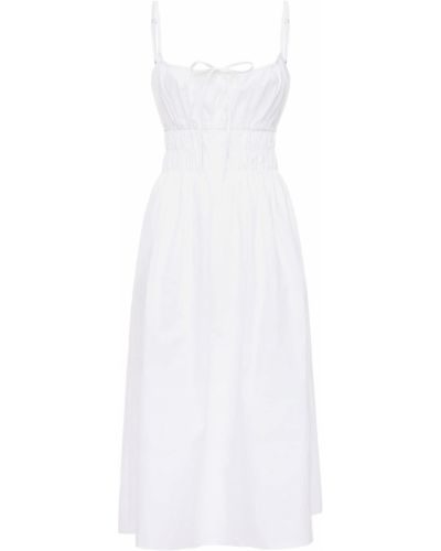 Biała sukienka mini bawełniana Ciao Lucia