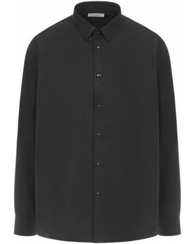 Czarna koszula bawełniana Saint Laurent