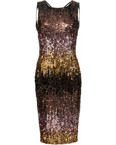 Вечернее платье в полоску с пайетками Bonprix