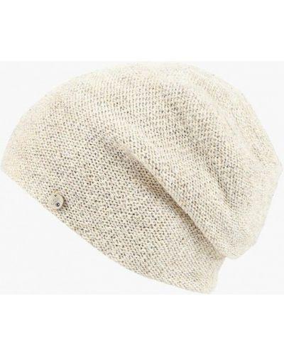 Бежевая зимняя шапка Ferz