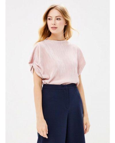 Блузка с коротким рукавом осенняя розовый Zarina