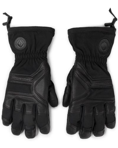 Skórzany rękawiczki nylon czarny Black Diamond