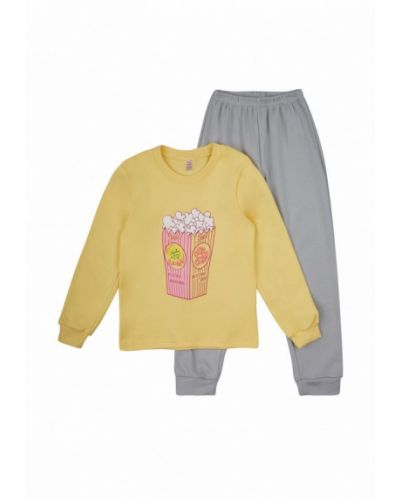 Пижама серая желтый габби