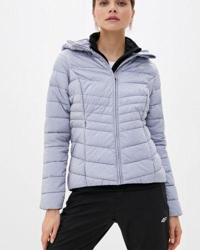 Серая теплая куртка 4f