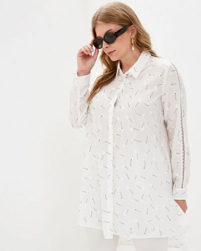Блузка с длинным рукавом белая весенний Berkline