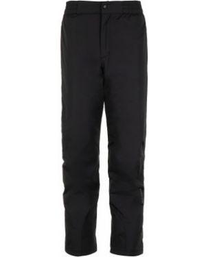 Спортивные брюки утепленные черные Glissade