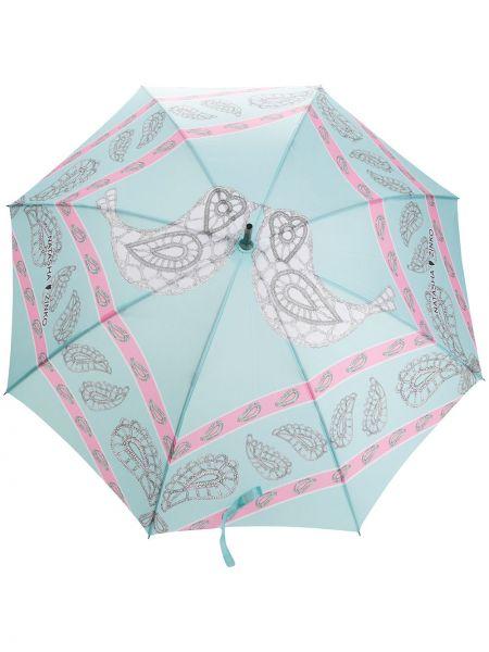 Automatyczny parasol z nadrukiem z logo Natasha Zinko