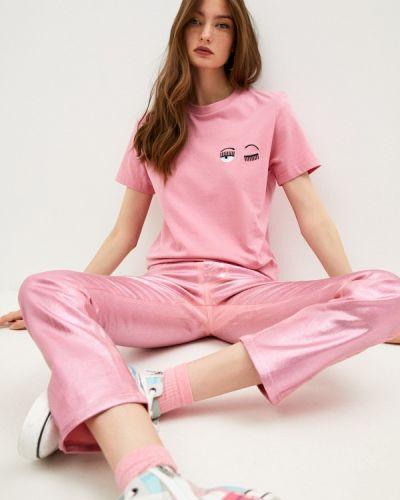 Футболка - розовая Chiara Ferragni Collection