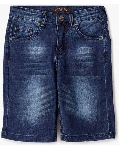 Свободные расклешенные синие джинсовые шорты Finn Flare