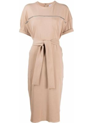 Платье мини миди футболка Brunello Cucinelli
