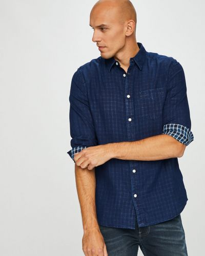 Рубашка с длинным рукавом однотонная хлопковая Wrangler