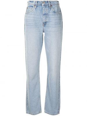Прямые джинсы классические - синие Re/done