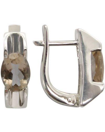 Серебряные серьги митра ювелир