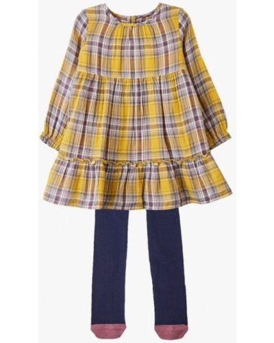 Желтое платье Marks & Spencer
