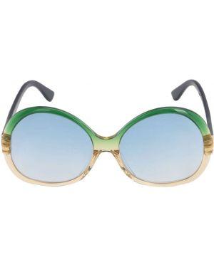 Муслиновые солнцезащитные очки круглые George Keburia