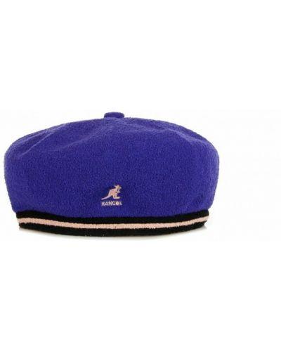 Fioletowa czapka Kangol