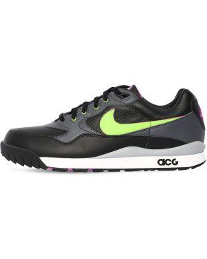 Кожаные кроссовки - черные Nike Acg