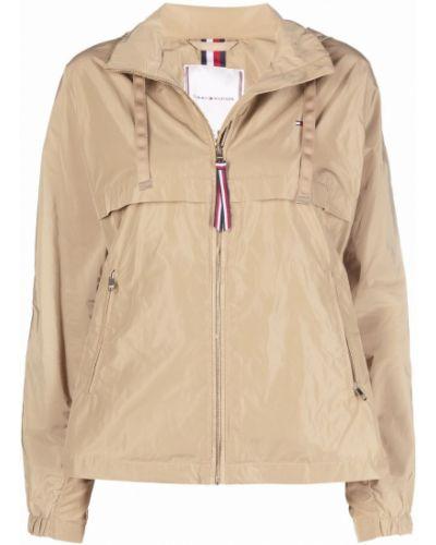 Облегченная куртка с вышивкой на молнии классическая Tommy Hilfiger