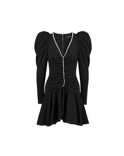 Платье из полиэстера - черное Marco Bologna