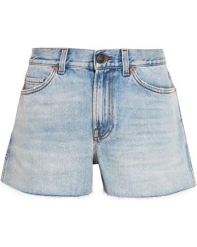 Джинсовые шорты короткие Gucci