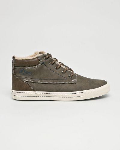 Ботинки на шнуровке высокие S.oliver